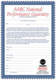 National Performance Guaranty